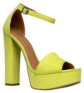 Chinese Laundry Yellow Sandals