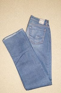 Chip and Pepper Blue Cotton Boot Cut Jeans