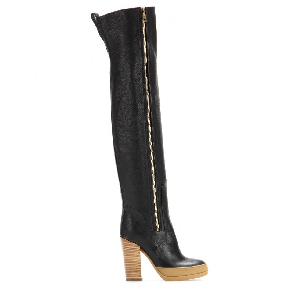 Chloé Black Boots/Booties Size US 8