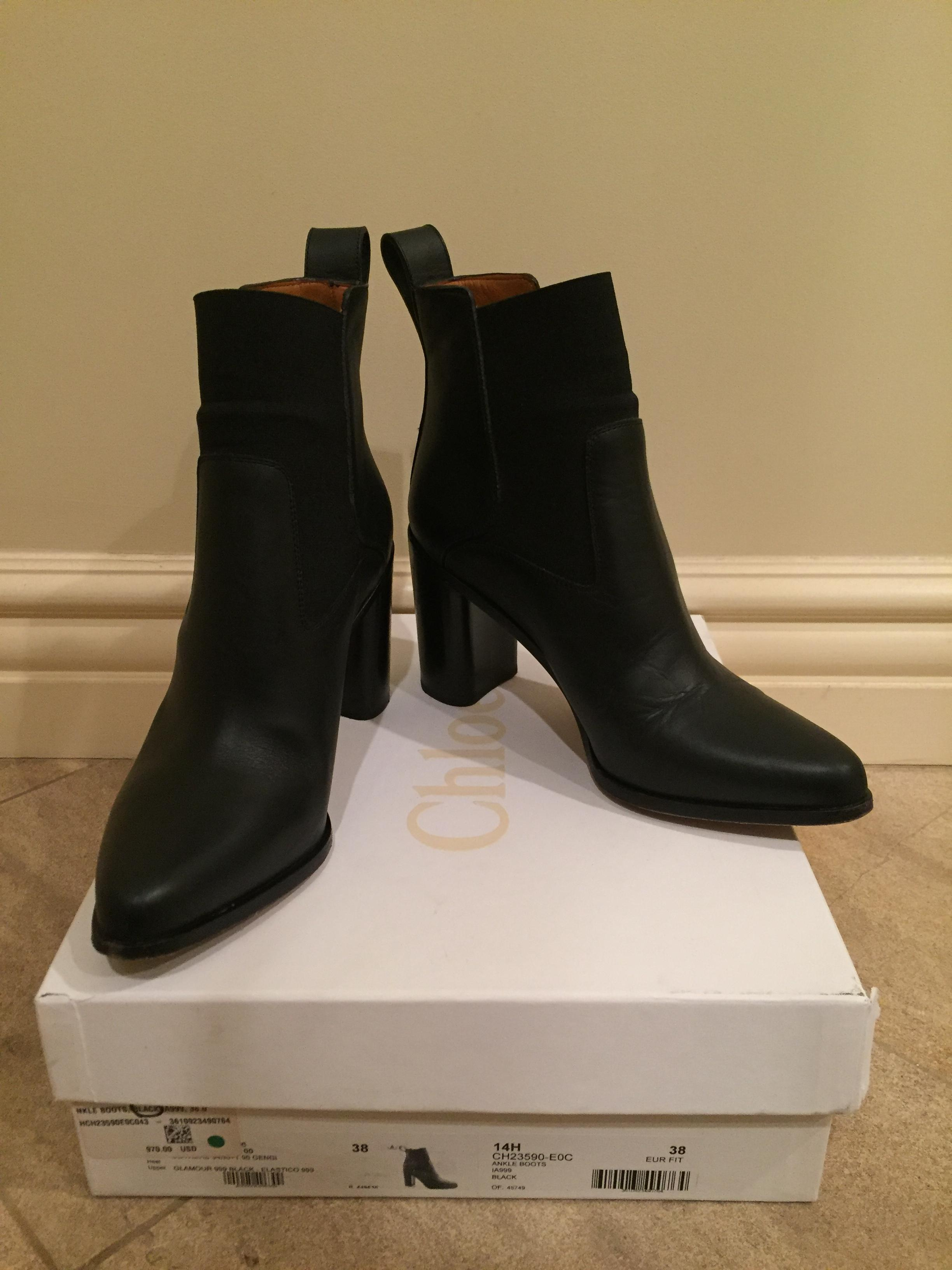 2014 new cheap online low cost Chloé Pointed-Toe Ankle Boots buy cheap 2014 0DnvHgAI