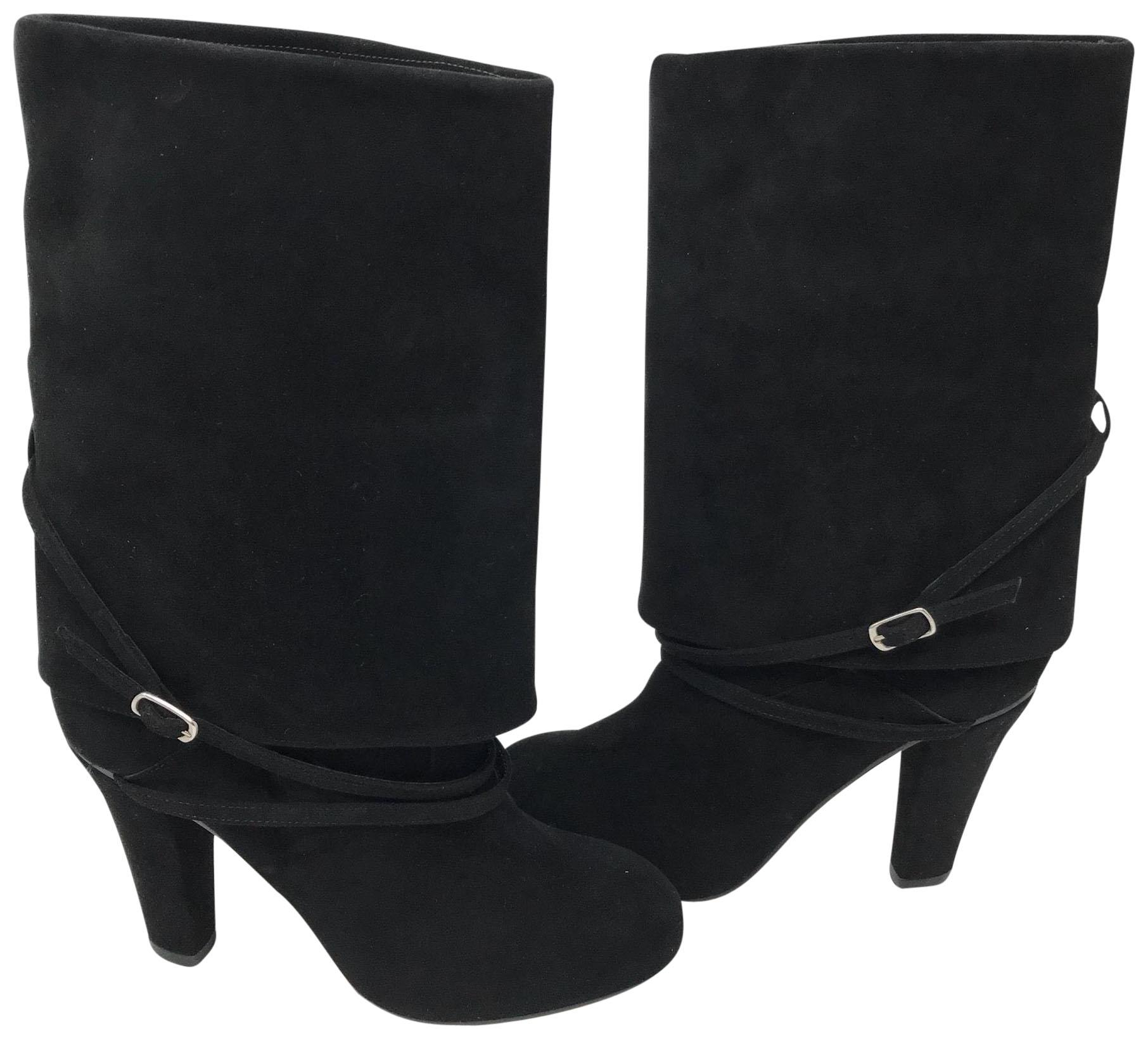 Chloé Black Suede Leather Boots/Booties Size EU 36 (Approx. US 6) Regular (M, B)