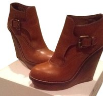 Chloé Brown/ Luggage Boots