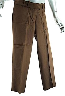 Chloe Capris Cropped Relaxed Pants Brown