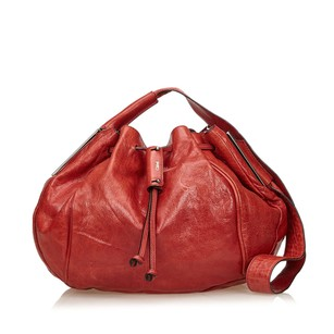 Chloé Leather Others Red Shoulder Bag