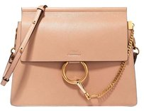 Chloé Sand Faye Leather Tote Classic Shoulder Bag