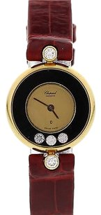 Chopard Ladies Chopard Happy Diamonds 18k Yellow Gold 4107