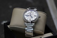 Chopard Diamond Encrusted Chopard Imperiale 36mm Stainless Steelwatch 388532-3002