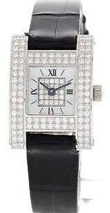 Chopard Ladies Chopard A Ladys Fine 18k White Gold Diamond Watch 493 1