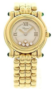 Chopard Ladies Chopard Happy Sport 18k Yellow Gold 276150-22