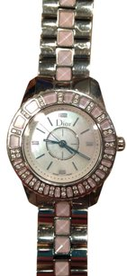 Dior Christian Dior Christal pink sapphire and diamond watch CD112113M001