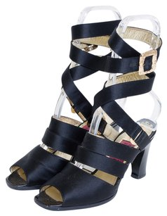 Christian Lacroix Black Sandals