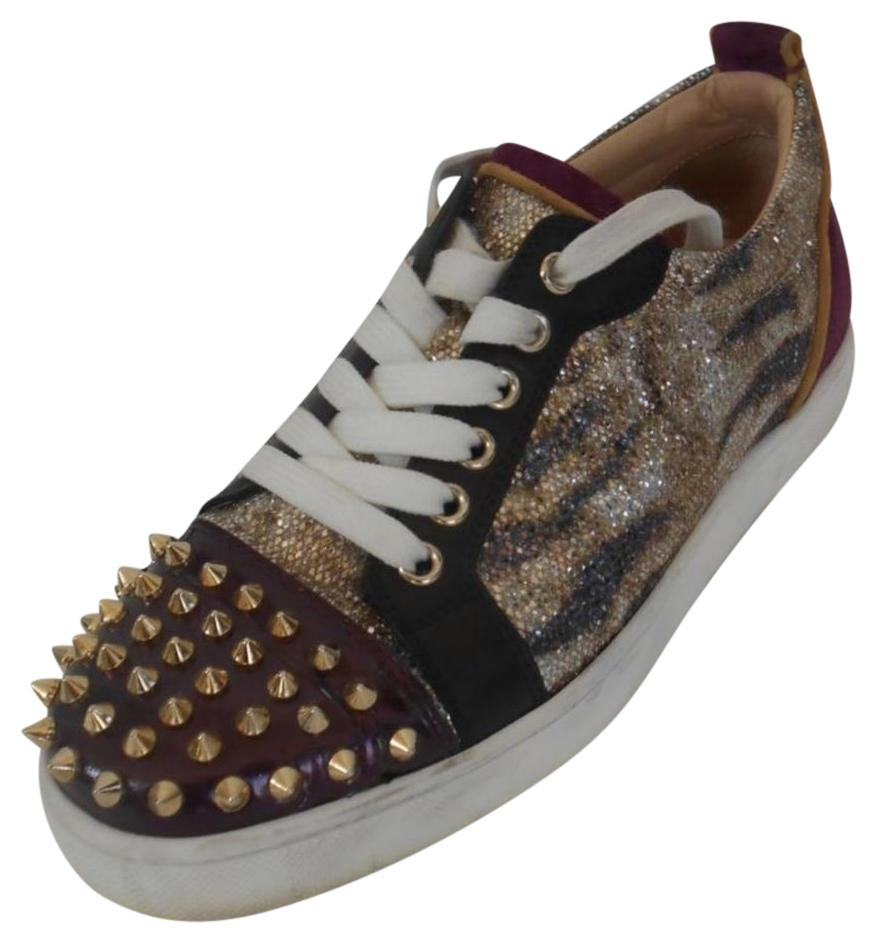 christian louboutin spike sneakers athletic shoes on sale