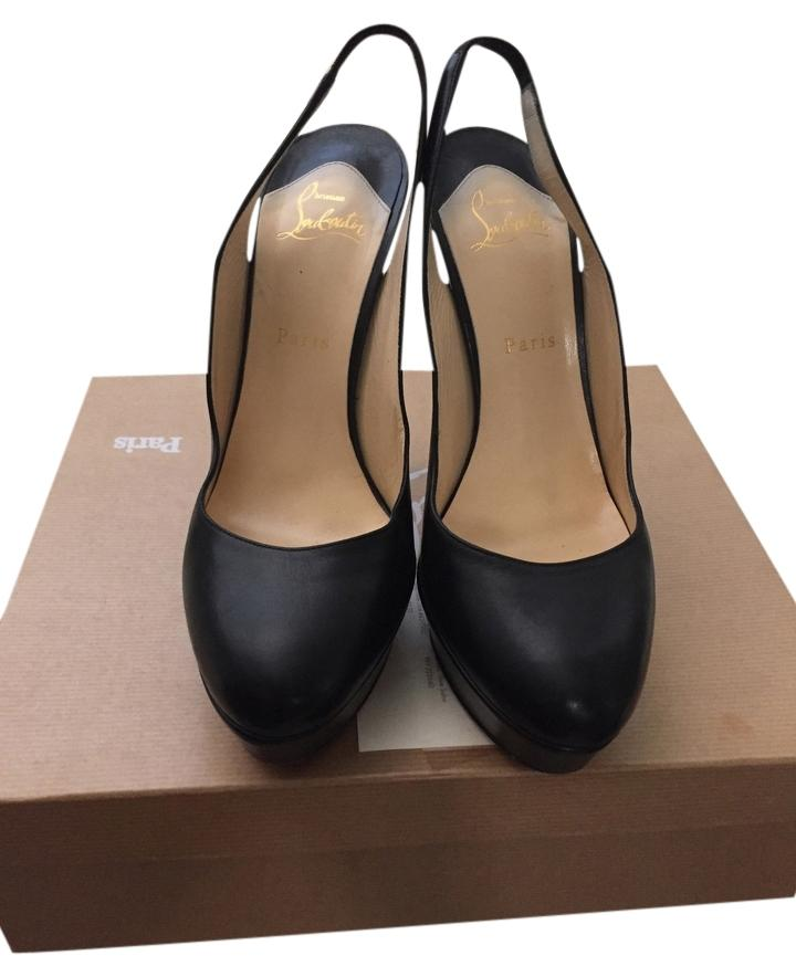 cheap best prices Christian Louboutin Bianca Sling 140 Pumps free shipping largest supplier 2014 newest sale online buy cheap best place very cheap online Q0NqYPj