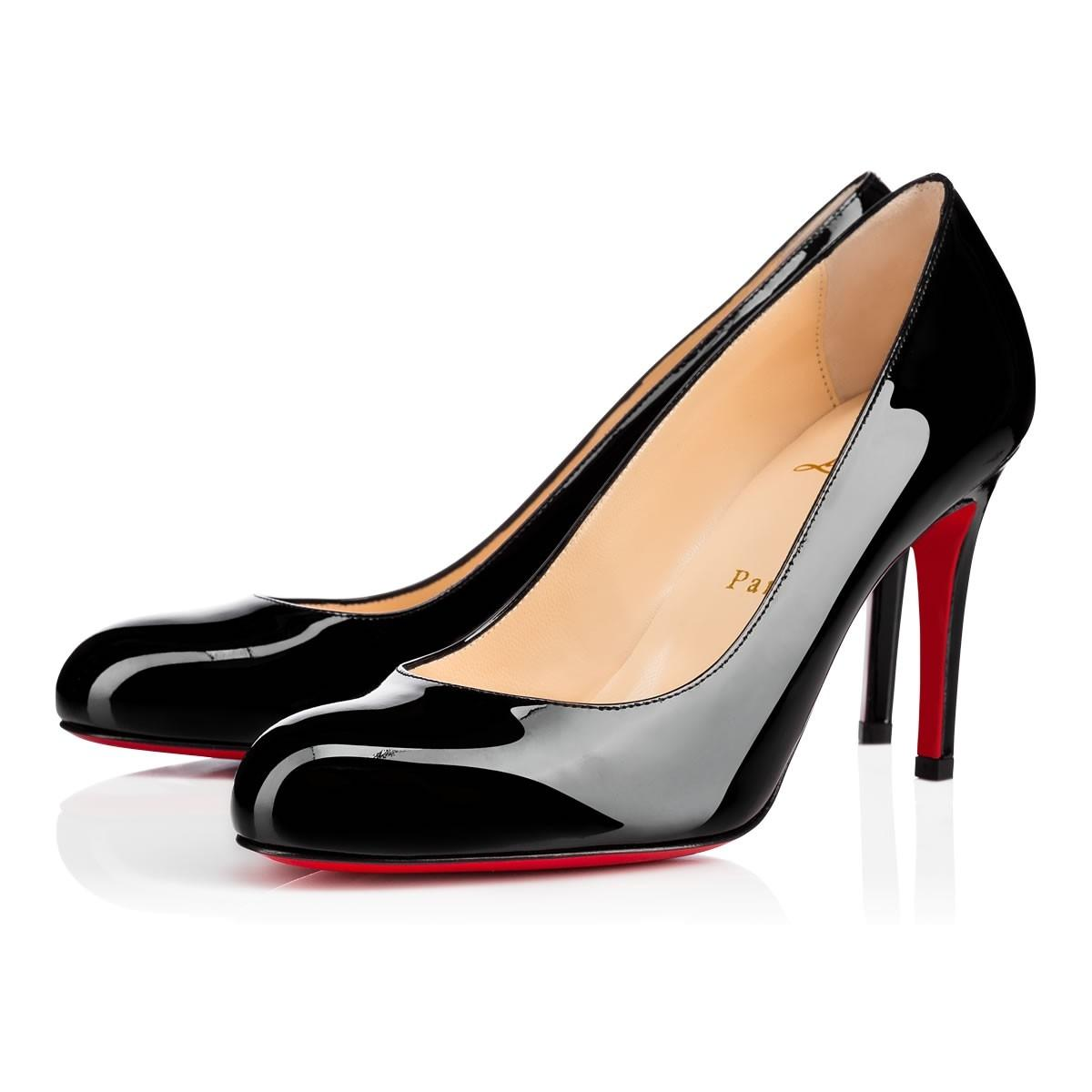 Christian Louboutin Simple Rounded-Toe Pumps cheap sale official site Q6uFkY8jS