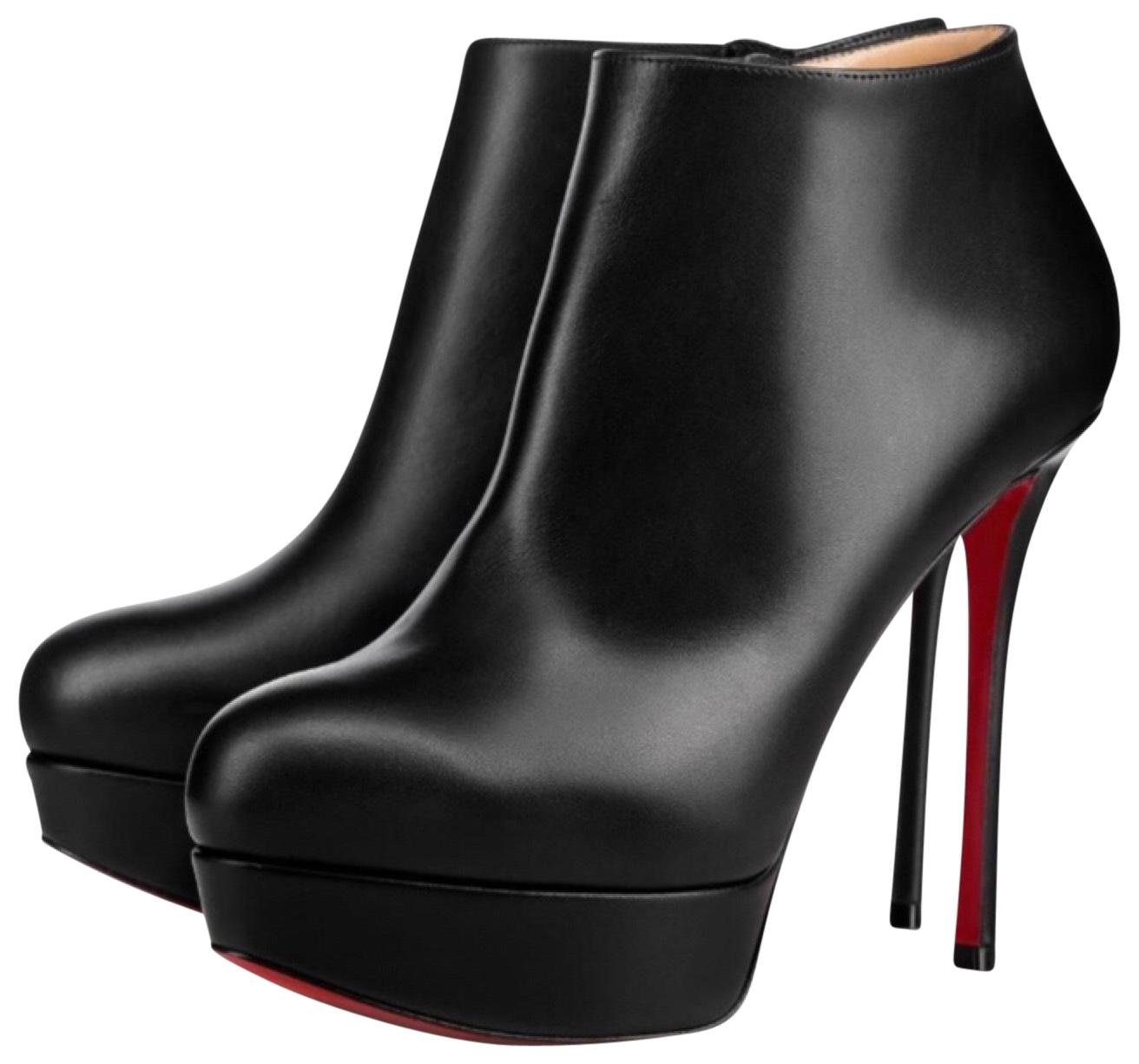 Christian Louboutin Black Dirdibootie 130 Boots/Booties Size EU 38 (Approx. US 8) Regular (M, B)