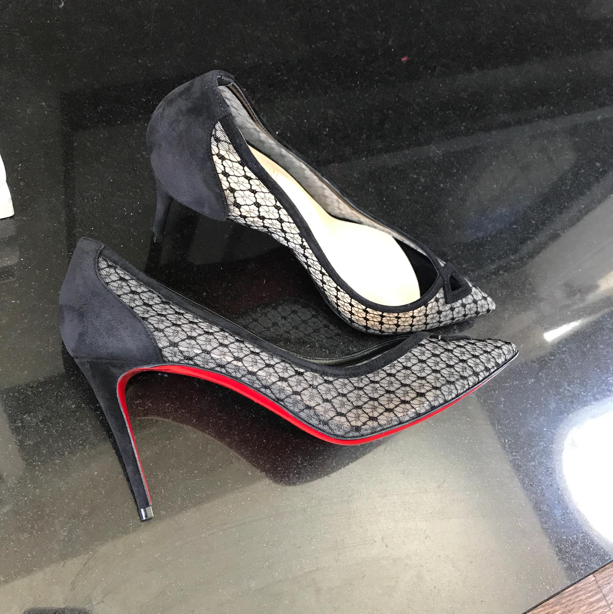 christian louboutin maroon & amp; or ocross Or ocross or 100 pompes d407c0