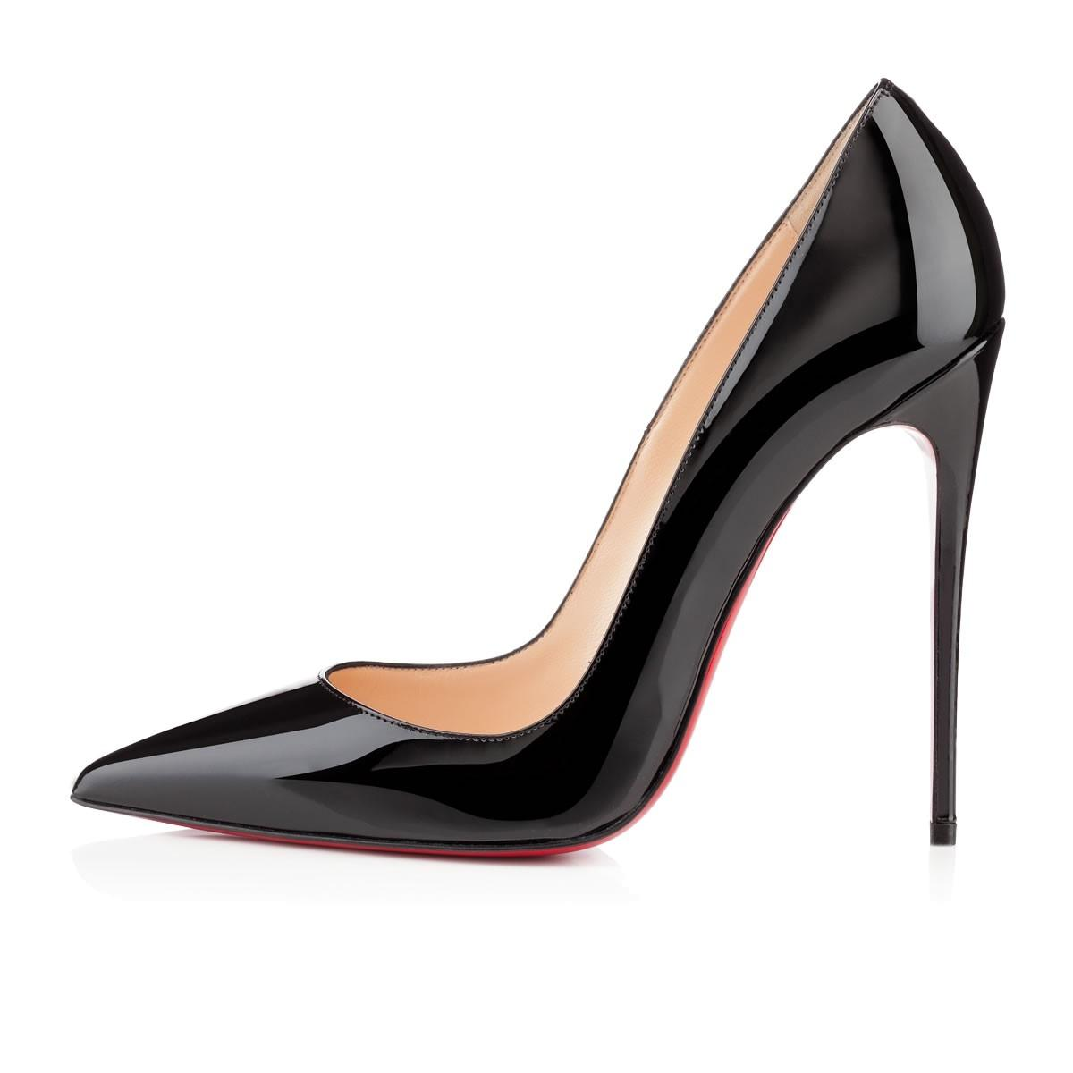 27a12fa7b Christian Louboutin Black Black Black New So Kate 120 Patent Leather 39  Pumps Size US 9 Regular (M