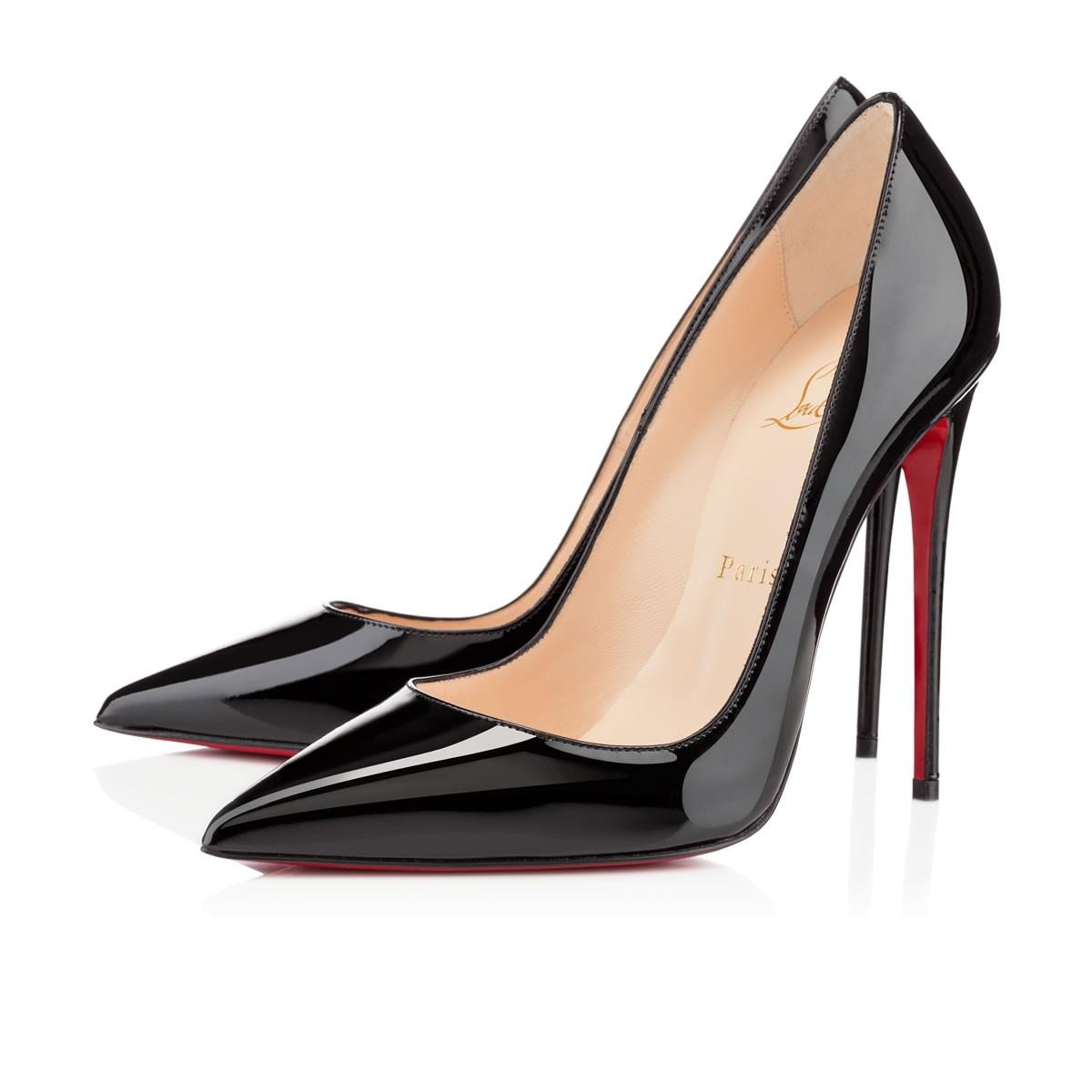 144da44eb ... Christian Louboutin Black Black Black New So Kate 120 Patent Leather 39  Pumps Size US 9