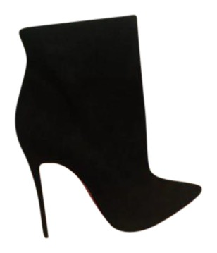e67c926825 ... germany christian louboutin pointed toe suede stiletto ankle black boots  66408 14555 coupon for occupation christian louboutin so kate ...