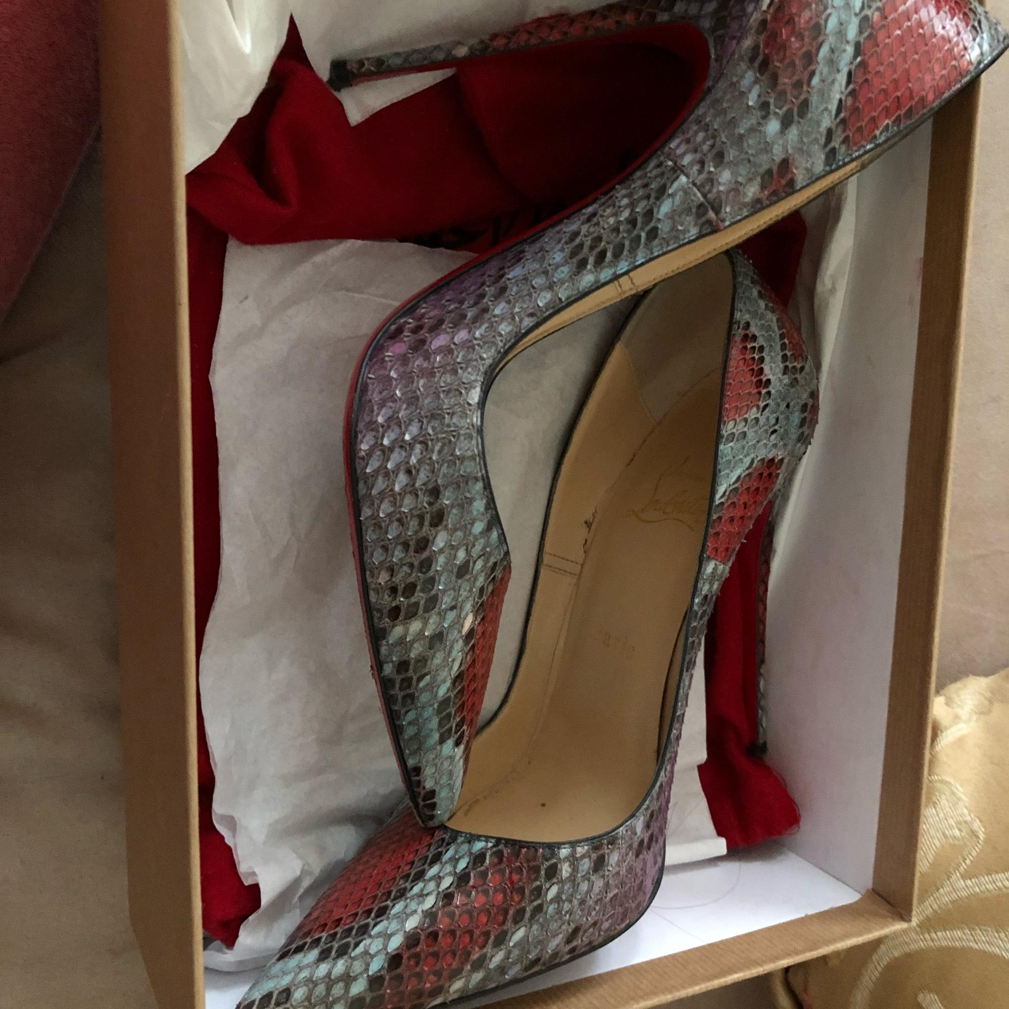 0eacc591370d ... Christian Christian Christian Louboutin Blue   Red So Kate Pumps Size US  8.5 Regular (M ...