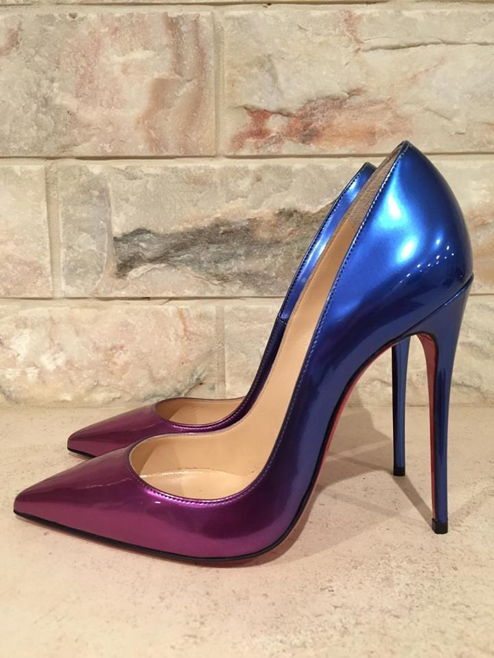 ee43e136a767 ... netherlands christian louboutin blue so kate 120 patent ombre heel 39  pumps size us 9 regular