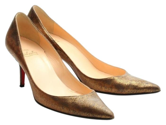 official site online Christian Louboutin Leather Embossed Pumps sale visit 8D6TO4CYF4