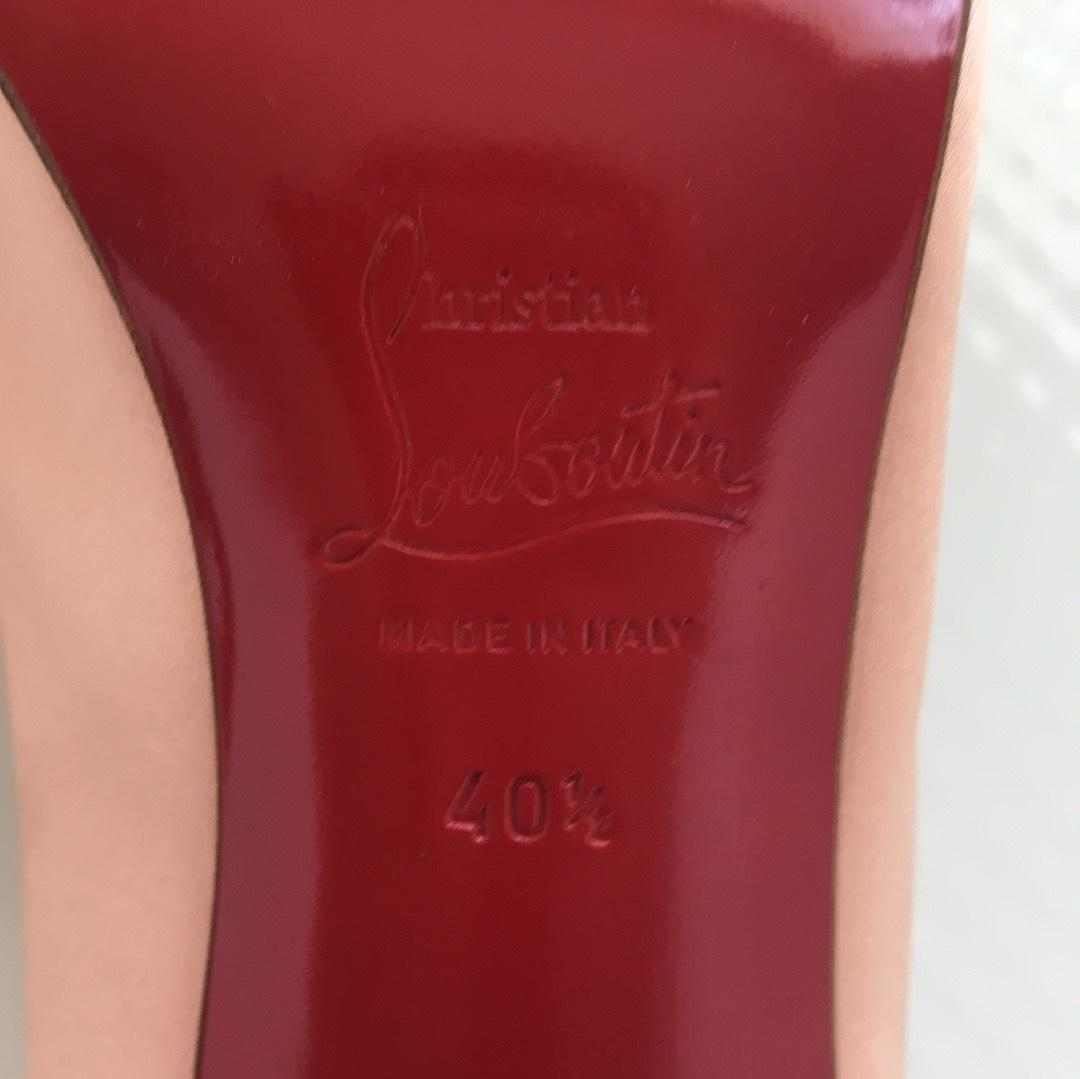 christian louboutin dusty rose pompes taille taille pompes nous b6b45f