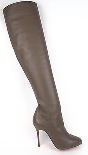 Christian Louboutin Sempre Taupe (Brown) Boots