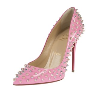 Christian Louboutin Follie Pink Patent Pumps