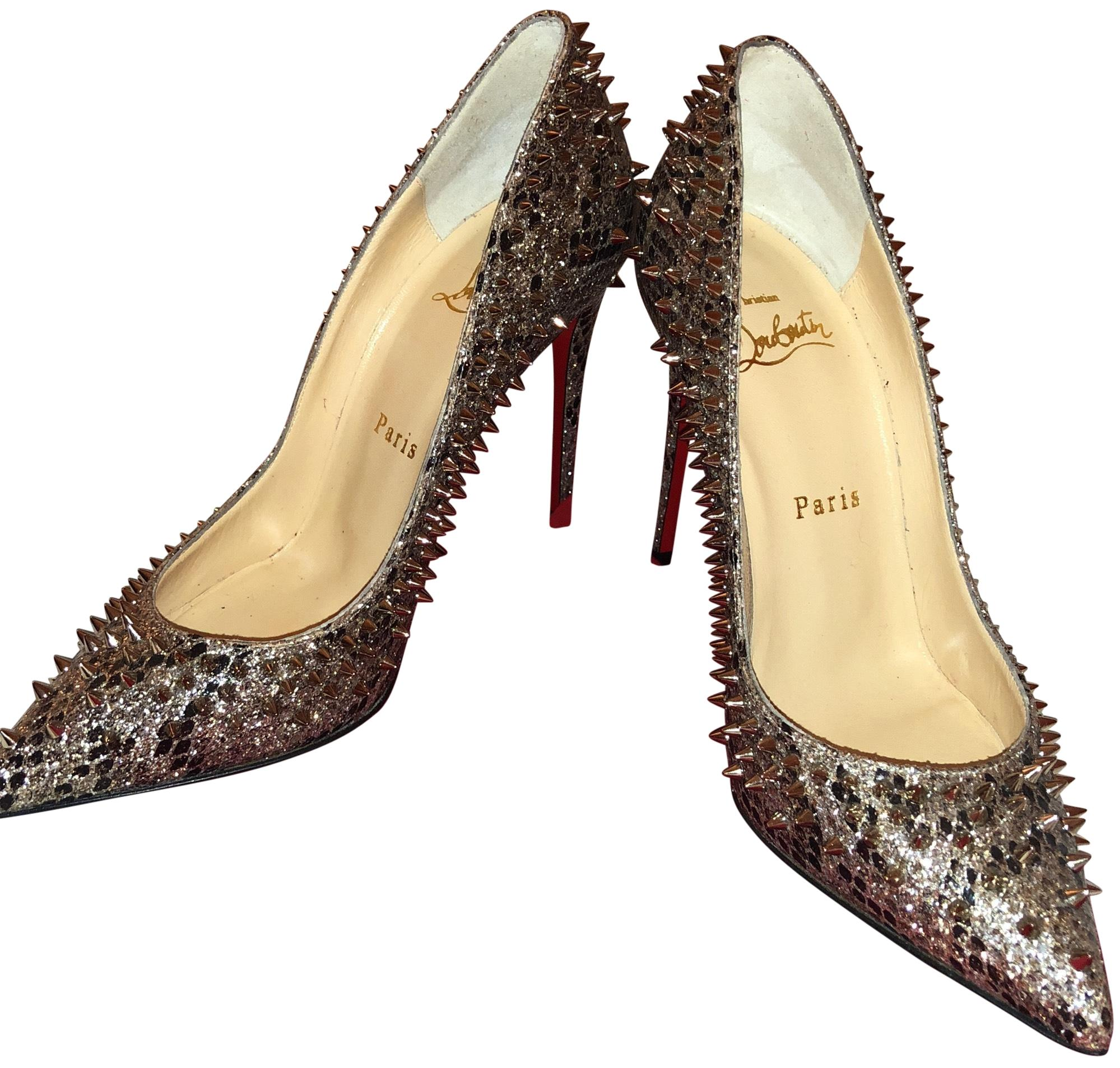 45f9b3d6522f where can i buy christian louboutin spiked pumps 8c904 b41a3