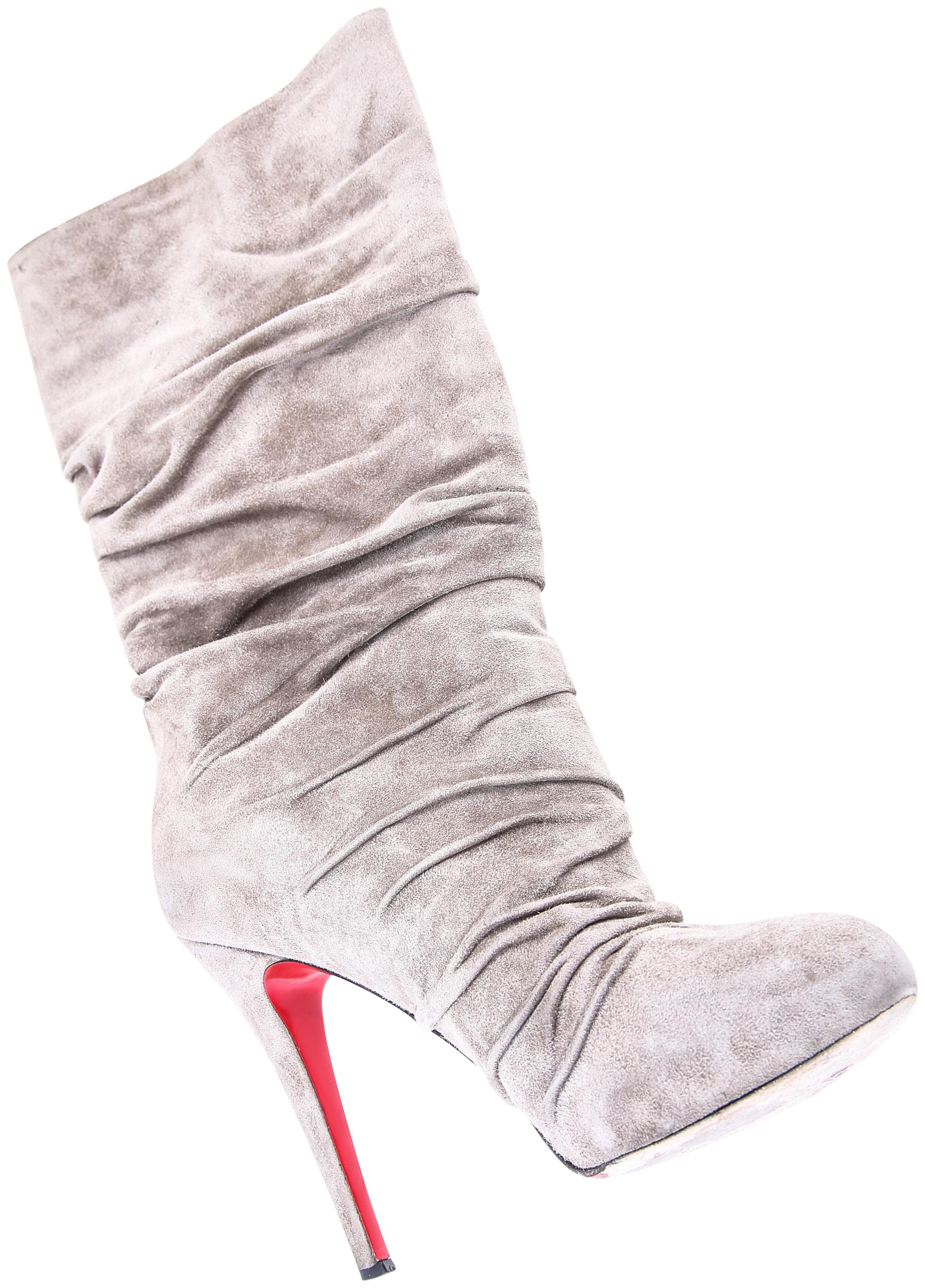 huge discount 159bc a42ad discount code for louboutin boots grey couch fd118 f8c30