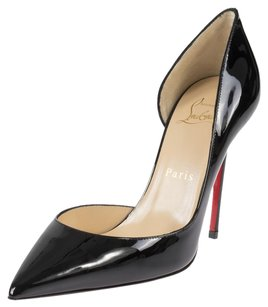 Christian Louboutin Iriza Black Patent Pumps