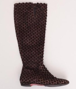 Christian Louboutin Womens Brown Boots