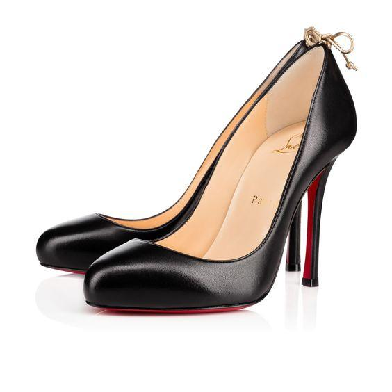 Christian Louboutin Louboutin Pigalle Louboutin Very Gemma Size 37 Black  Gold Pumps