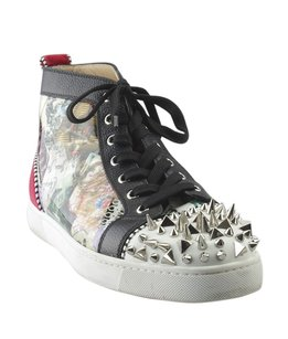 Christian Louboutin Sneakers Patent Leatherxleather Multi-Color Athletic