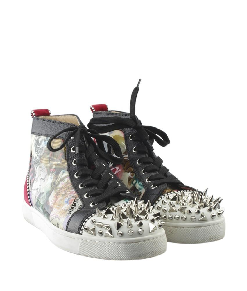 d985f159ac4 discount code for christian louboutin sneakers grey colour 8afd2 87846