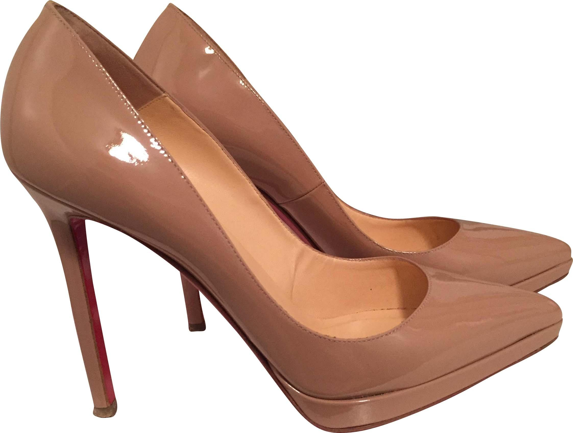 ae9fc5a13d8b ... christian louboutin pigalle plato gold stilettos christian louboutins  pigalle 85 ...