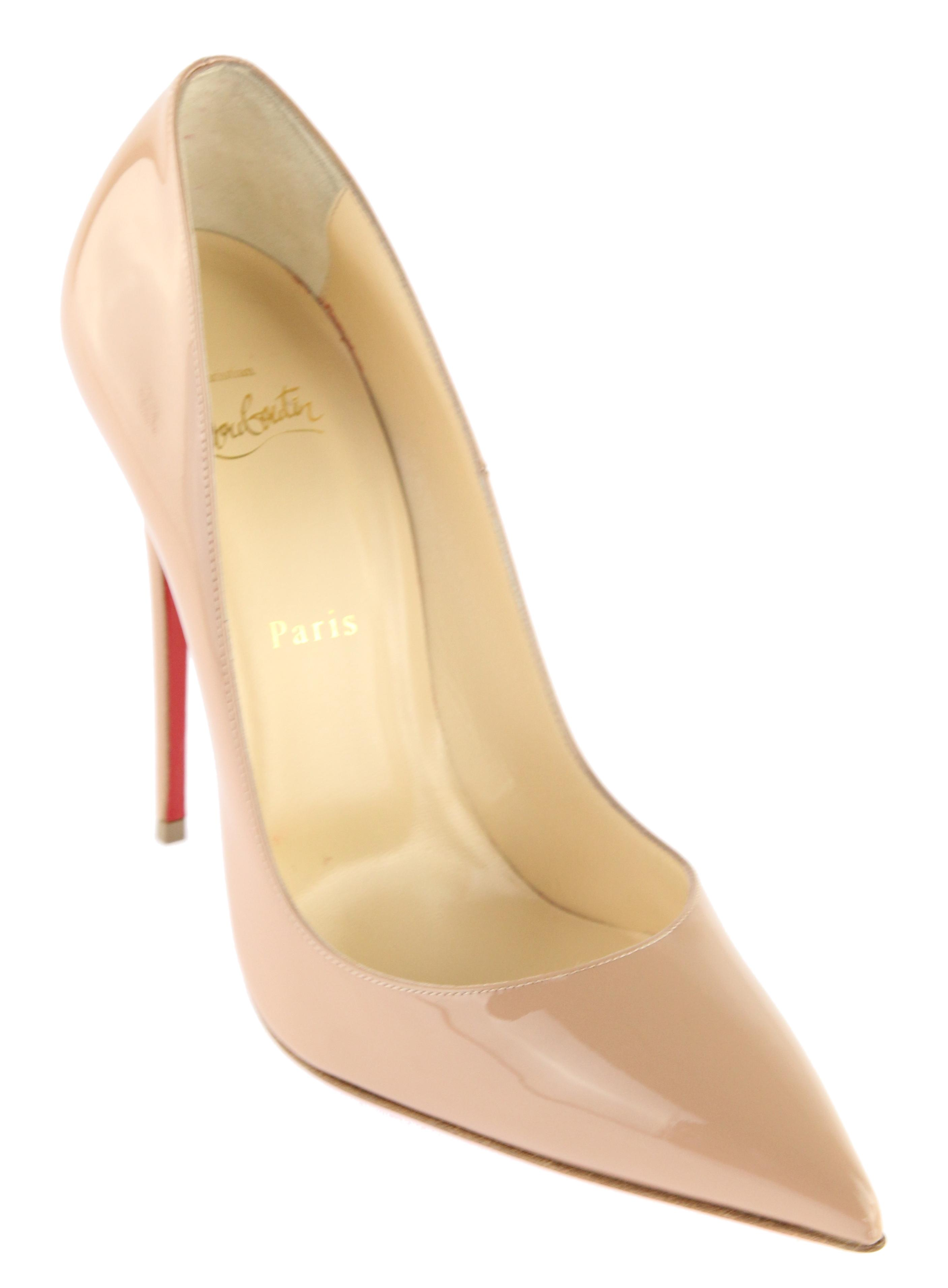 Christian Louboutin Nude Kate So Kate Nude 120 Patent Pumps Size EU 41 (Approx. US 11) Regular (M, B) 961ccd