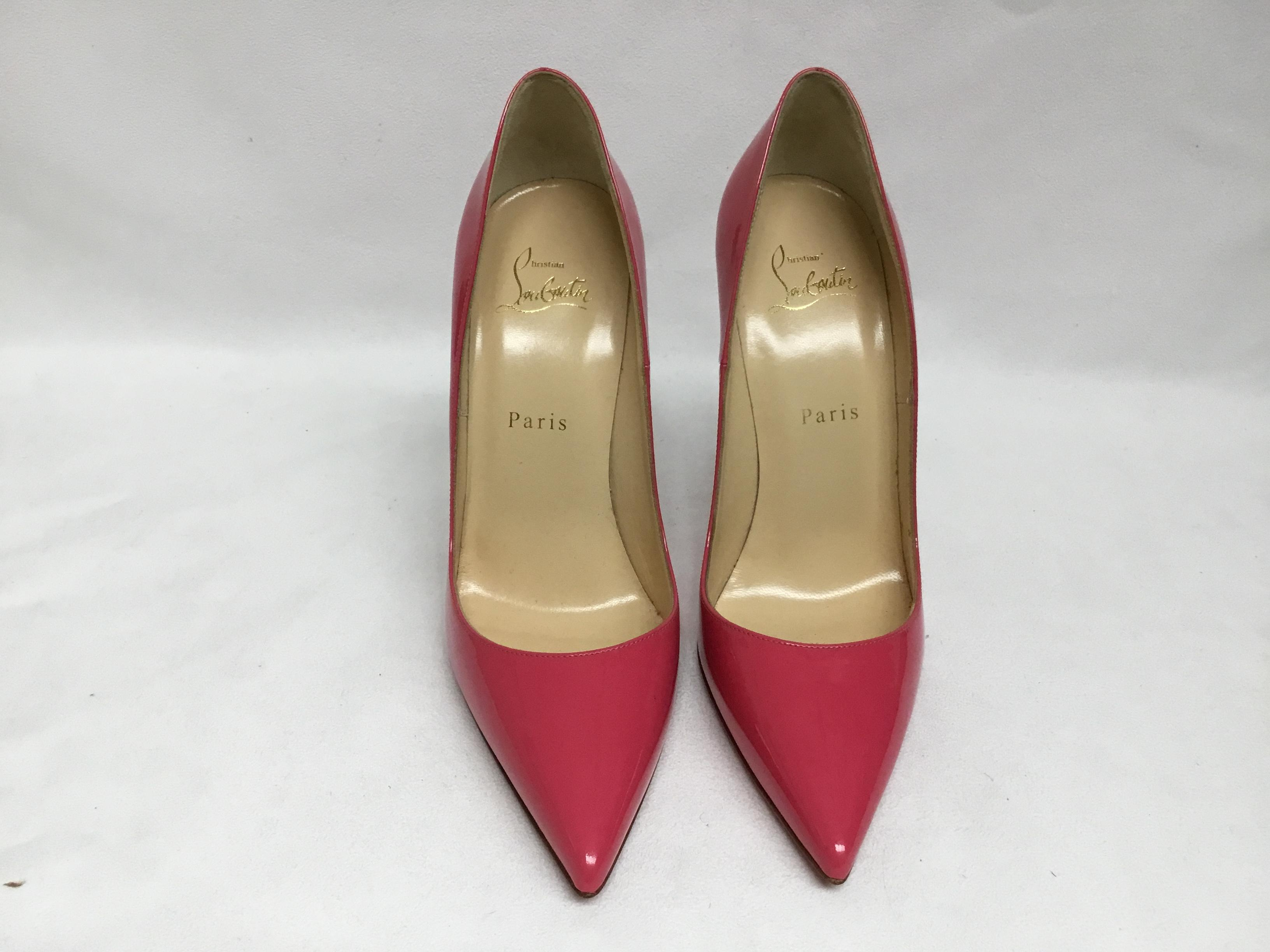 7561441b9556 ... Men s Women s   Christian Christian Christian Louboutin Pink Patent  Leather So Kate Pumps Size EU ...