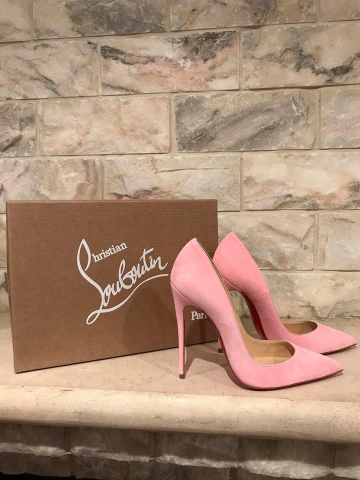 2626d2db40f Christian Louboutin Pink So Kate 120 Dolly Dolly Dolly Light Suede ...