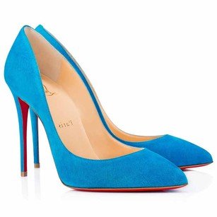 Christian Louboutin Red Bottoms Christians Egyptian blue Pumps