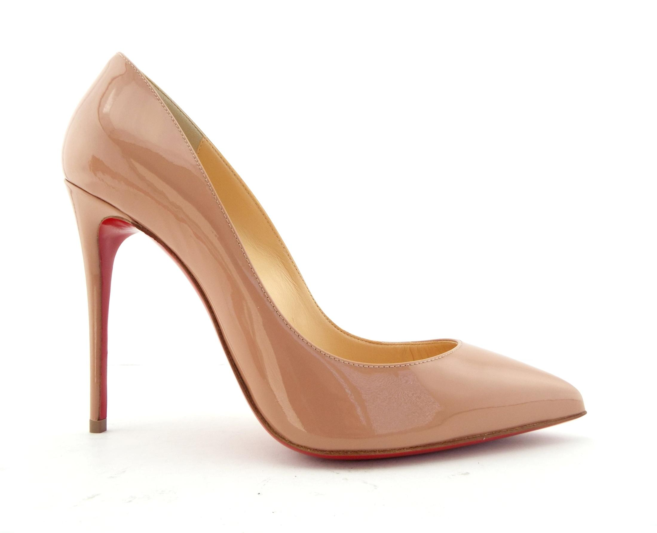 18cc024a3dca Christian Louboutin Red Patent Patent Patent Leather Classic Heel Pumps Size  EU 38 (Approx. US 8) Regular (M