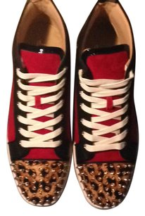 Christian Louboutin red/black/white Athletic
