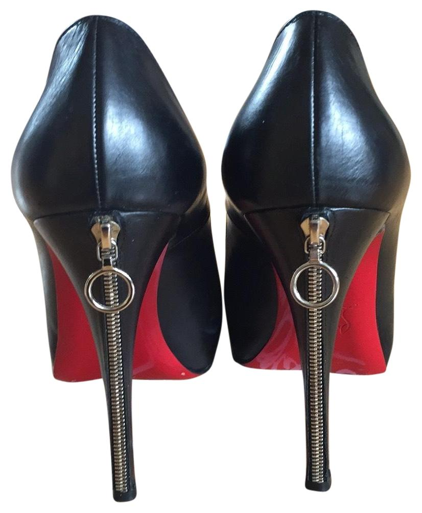 Christian Louboutin Rolandozip 120 Calf Pumps Size EU 39 (Approx. US 9) Regular (M, B)