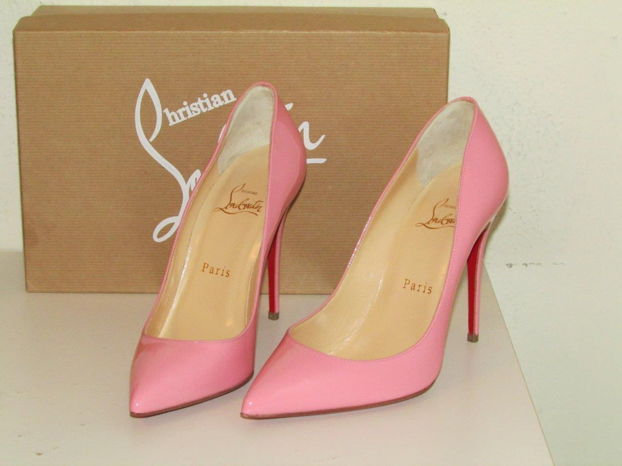 2859267f92 ... Christian Louboutin Rose Pink Pigalle Follies 100 Pumps Size Size Size  US 7 Regular (M ...