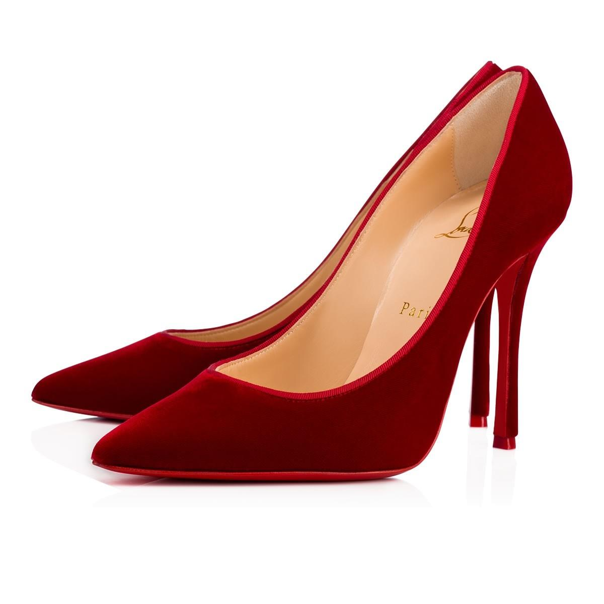 louboutin fall winter 2018 Rosso