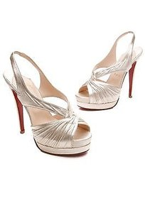 Christian Louboutin Metallic gold Sandals