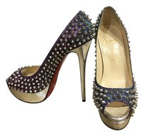 Christian Louboutin Spiked iridescent Pumps