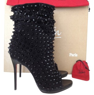 Christian Louboutin Spikes BLACK Boots