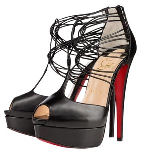 Christian Louboutin Leather Confusalta Heels Black Pumps